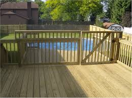 deck gates for pools deck design and ideas