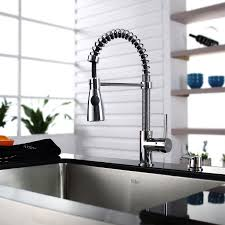 kraus kitchen faucets kraus khf200 30 kpf1612 ksd30 30 farmhouse single bowl stainless