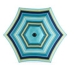 5 Ft Patio Umbrella Exterior Mesmerizing 5 Ft Patio Umbrella With Treasures Blue