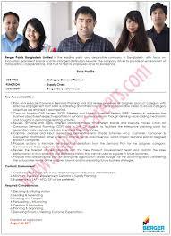 berger paints bangladesh limited job circular 2017 bd jobs careers