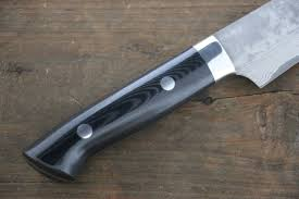 takeshi saji vg10 black damascus petty japanese chef knife 150mm