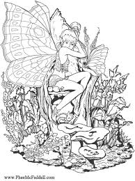 coloring fairy coloring
