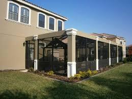 Painting Aluminum Screen Enclosures by Recent Pool Enclosure With Architectural Columns Jobs Us Aluminum