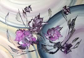 deko in lila