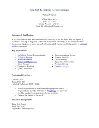 Tire Technician Resume Technician Resume