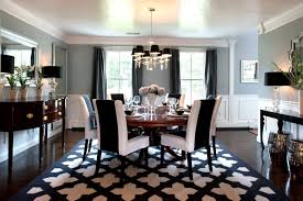 creative design dining room area rug ideas simple decoration