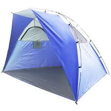 Baby Beach Tent Walmart Mainstays Beach Shelter Blue Walmart Com