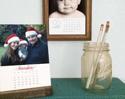 Desk Calendar Custom Desk Calendar Etsy