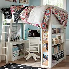 chambre ado mezzanine idées fantastiques pour une chambre de fille ado lit mezzanine