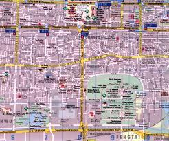 Beijing Map Beijing Chongwen And Xuanwu Districts Map Full Detail