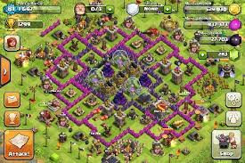 big clash of clans base got rid of my one pocket design desperately need help on my new base