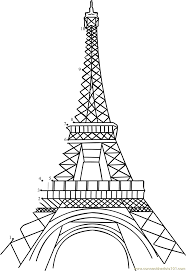 12 best images of eifel tower for adults printable hard connect