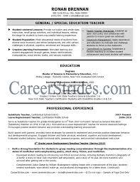 simple sle resume for students free teaching resume template sle for elementary new teacher