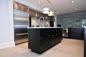 Black Shaker Kitchen Cabinets Black Shaker Kitchen Cabinets Black Kitchen Cabinets Pinterest