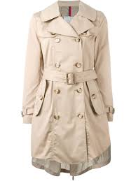 moncler belted trench coat women clothing moncler scarf moncler