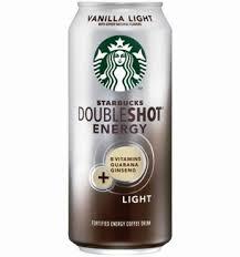 starbucks doubleshot vanilla light doubleshot energy vanilla light drink over caffeinated