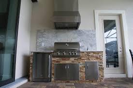 Outdoor Kitchen Island Designs Brilliant Barocco White Granite Outdoor Kitchen Elegant Outdoor