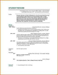 13 Student Resume Examples High by Graduate Resume Sample Best Resume Collection