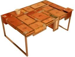 Coffee Table Box Habana Coffee Table Built From Used Cigar Boxes