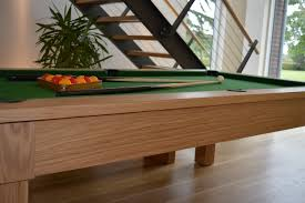 Pool Dining Table by 6ft Kingswood Oak Pool Table In Oak Standard Black Cloth