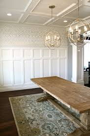 Light Fixture Dining Room Dining Room Trim Work And My Favorite Light Fixtures For The