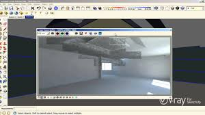 v ray for sketchup interior illumination tutorial youtube