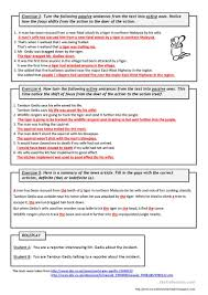 soup ladle stops tiger attack reading passive voice worksheet