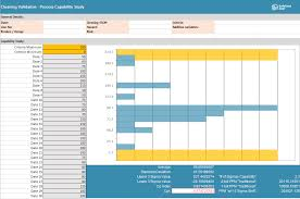 Capability Study Excel Template Tools Safefood 360