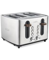 Cuisinart Toaster 4 Slice Stainless Cuisinart Cpt 180 Toaster 4 Slice Classic Brushed Chrome