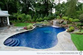 Pool Ideas For Backyard Surprising Backyard Swimming Pool Designs Of Home Design Painting