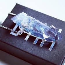 sterling silver quartz necklace images Jewels dixi shopdixi shop dixi crystal quartz chain crystal jpg