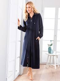 la robe de chambre hahn la robe de chambre bleu foncé