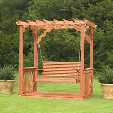 Pergola Free Plans by Arbor With Seat Plans Corner Arbor With Bench Plans Garden Arbor