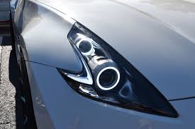 nissan headlights nissan 370z z drls led accessories from the retrofit source