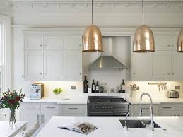 Copper Kitchen Lighting Magnificent Copper Pendant Light Kitchen And Pendant Kitchen