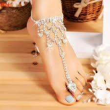 fashion ankle bracelet images 2018 hot fashion 2017 ankle bracelet wedding barefoot sandals jpg
