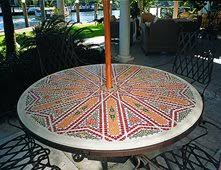 Mosaic Patio Furniture Outdoor Furniture Pictures Gallery The Concrete Network