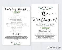 Wedding Program Fans Cheap Rustic Wedding Invitation Template Wedding Invitation Templates