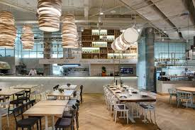 light and modern design for italian trattoria tartufo made by yod