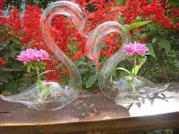 Colored Vases Wholesale Glass Swan Hydroponic Flower Vase Desktop Glass Vase Wedding Gift