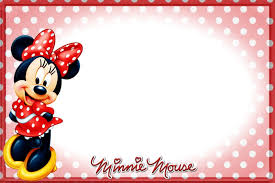 printable minnie mouse birthday invitations u2013 bagvania free