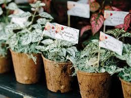 flower pot favors wedding favors pretty floral wedding favor ideas