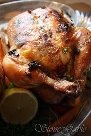 ina garten u0027s perfect roast chicken with a stonegable twist