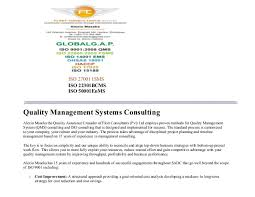 Quality Auditor Resume Sample Resume Iso Consultant Resume Ixiplay Free Resume Samples