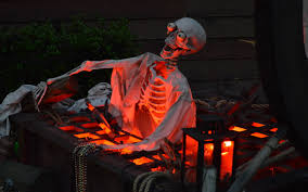 exteriors easy homemade outdoor halloween decorations wonderful