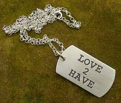 Personalized Dog Tag Necklace Mens Personalised Dog Tag Id Necklace Love2have In The Uk