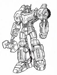 face optimus prime transformers coloring pages transformer