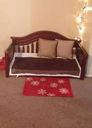 How To Make A Crib Mattress Diy Bed From Upcycled Crib Mattress And Crib We Re Worked Our
