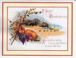 a happy thanksgiving ripe fruits thanksgiving glitter card the