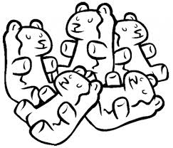 gummy bear coloring pages clipartsco within gummy bear coloring